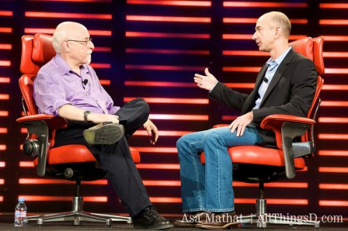 Walt Mossberg interviews Jeff Bezos at All Things D Conference