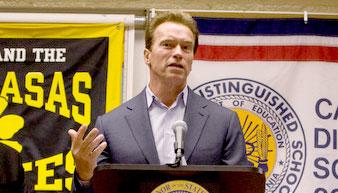 Arnold Schwarzenegger On Digital Textbooks