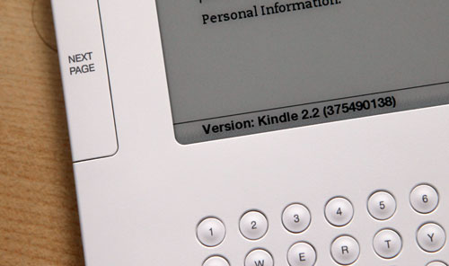 Kindle 2 International 2.2