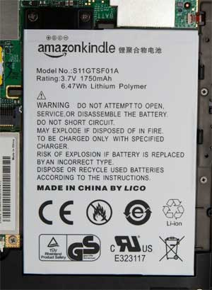 Kindle 3 Battery