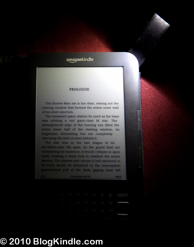 Kindle 3 Light