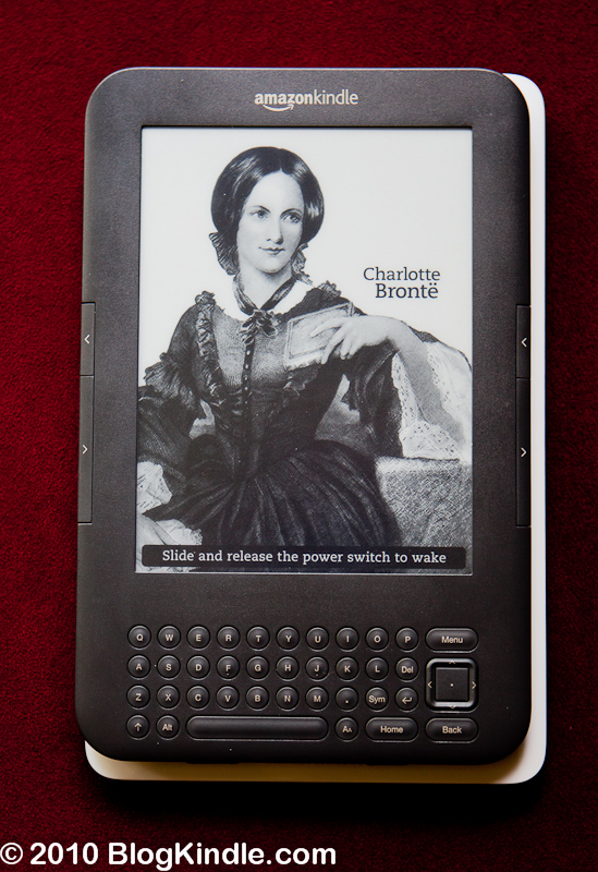 Kindle 3 vs Nook - Size overlay