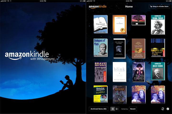 Amazon Kindle for iPad
