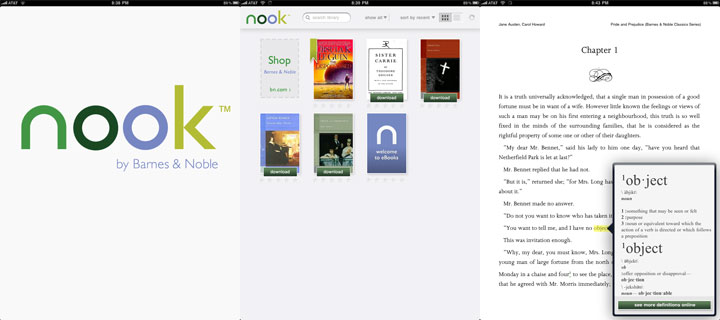 Barnes & Noble Nook for iPad