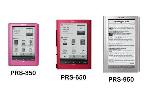 Sony PRS-350/650/950