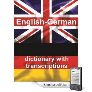 Kindle English-German Translation Dictionary