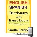 Kindle English-Spanish Dictionary