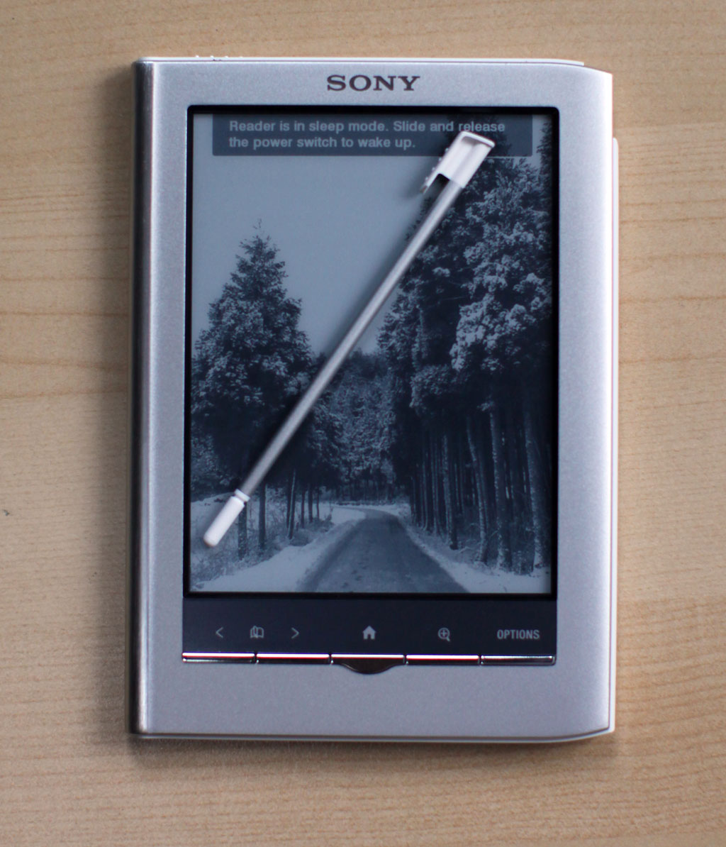 Sony PRS-350 Touch eBook Reader