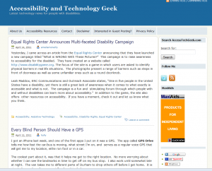 accessibility and technology geek