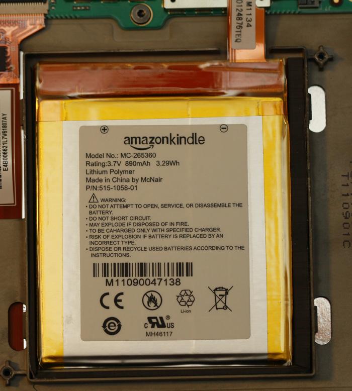 Kindle4 battery