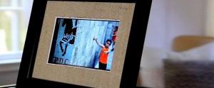Burlap SlideFrame